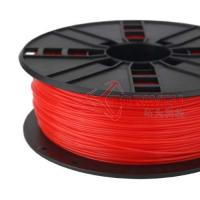 1.75mm PLA Filament Fluorescent red