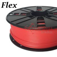 3mm Flexible Filament Red