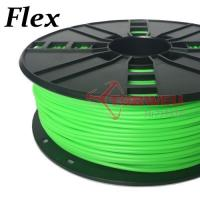 3mm Flexible Filament Green