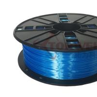 3mm Silk Filament Blue